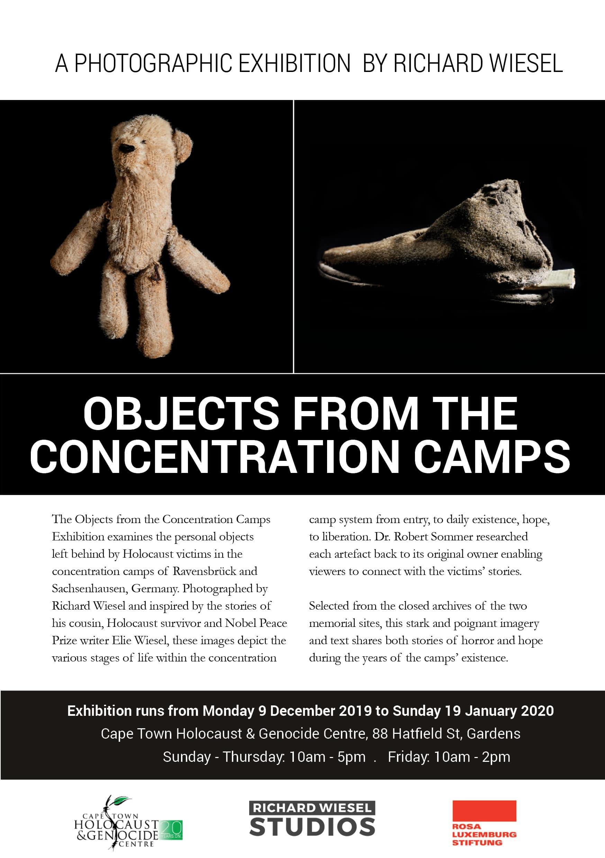 Richard Wiesel exhibition CTHGC